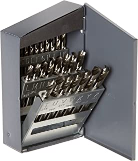 Chicago Latrobe 2159 Series High-Speed Steel Short Length Set in Metal Case 29-piece 1//16-1//2 in 1//64 increments Inch