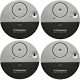 Doberman Security SE-0106-4PK Ultra-Slim Window Alarm (4 Pack)