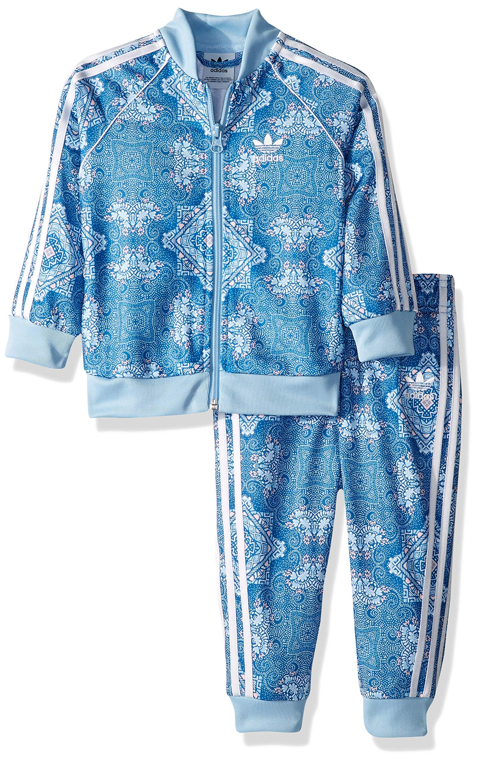 adidas Originals Kids' Toddler Culture Clash SST Track Suit Set, multi, 4T by adidas Originals