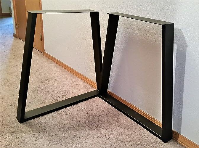 Metal Table Legs   Tapered Legs   3u0026quot; ...