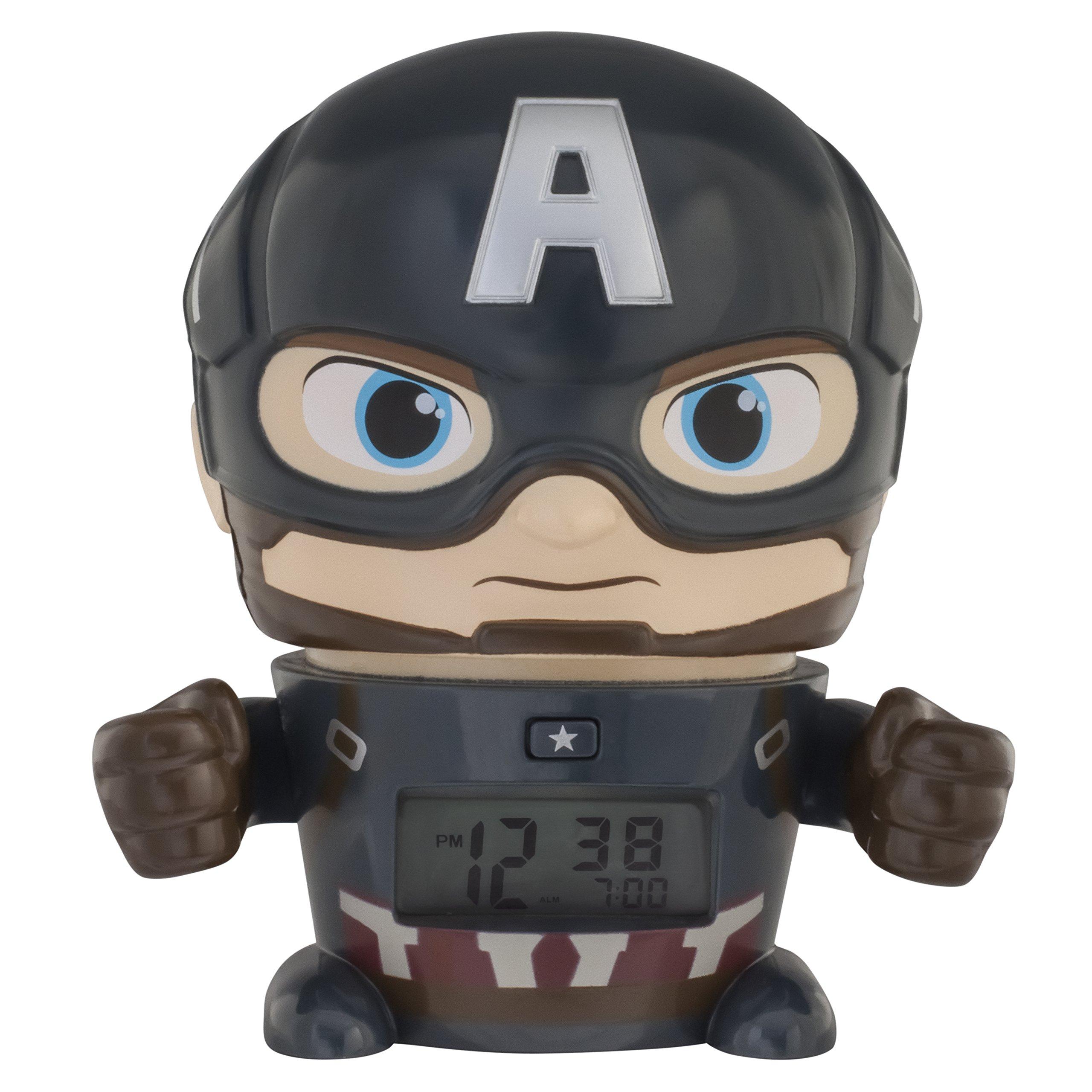 Bulb Botz Avengers: Infinity War Night Light BulbBotz Marvel Captain America Alarm Clock