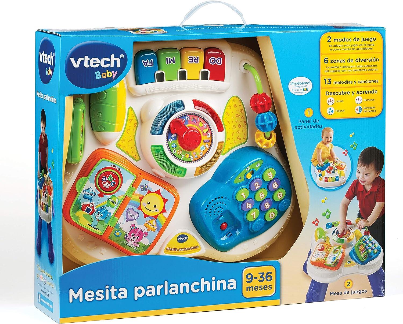 VTech Baby - Mesita parlanchina 2 en 1, mesa de actividades ...