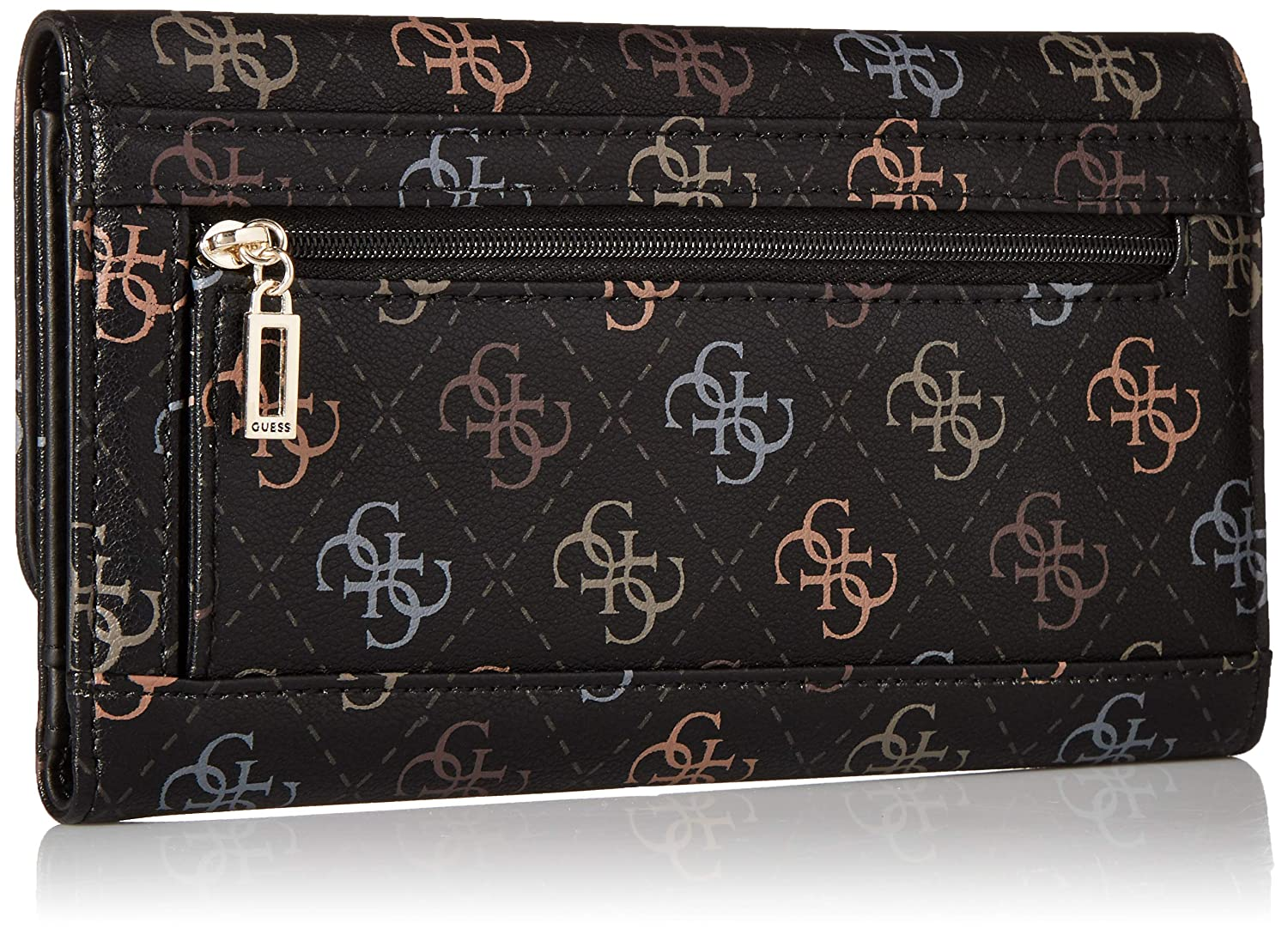 Amazon.com: GUESS Kamryn SQ - Cartera de embrague múltiple ...