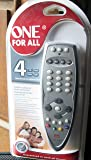 ONE FOR ALL URC 3445 Robusto 4 Universal Remote