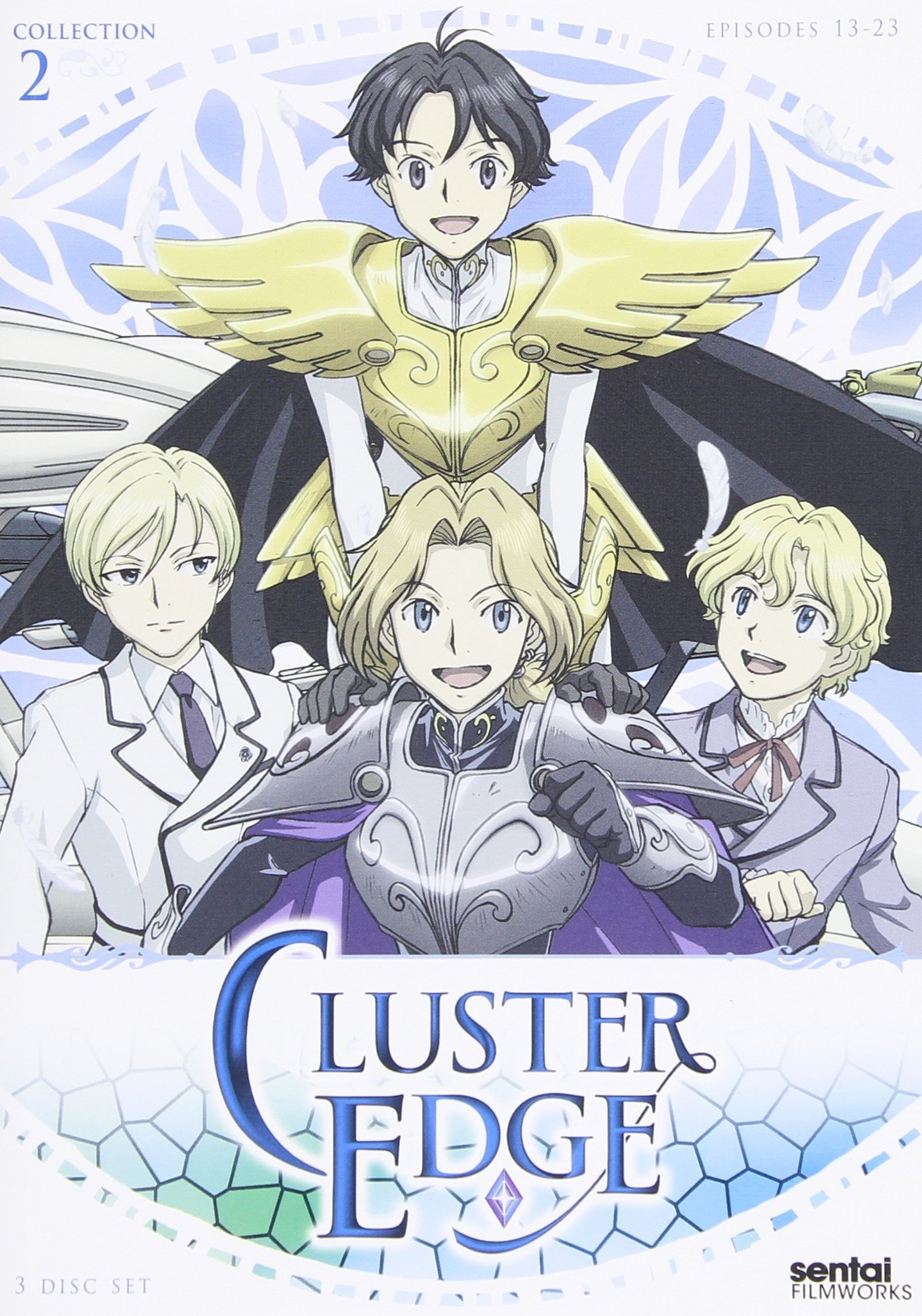 DVD : Cluster Edge: Collection 2 (Subtitled, 3PC)