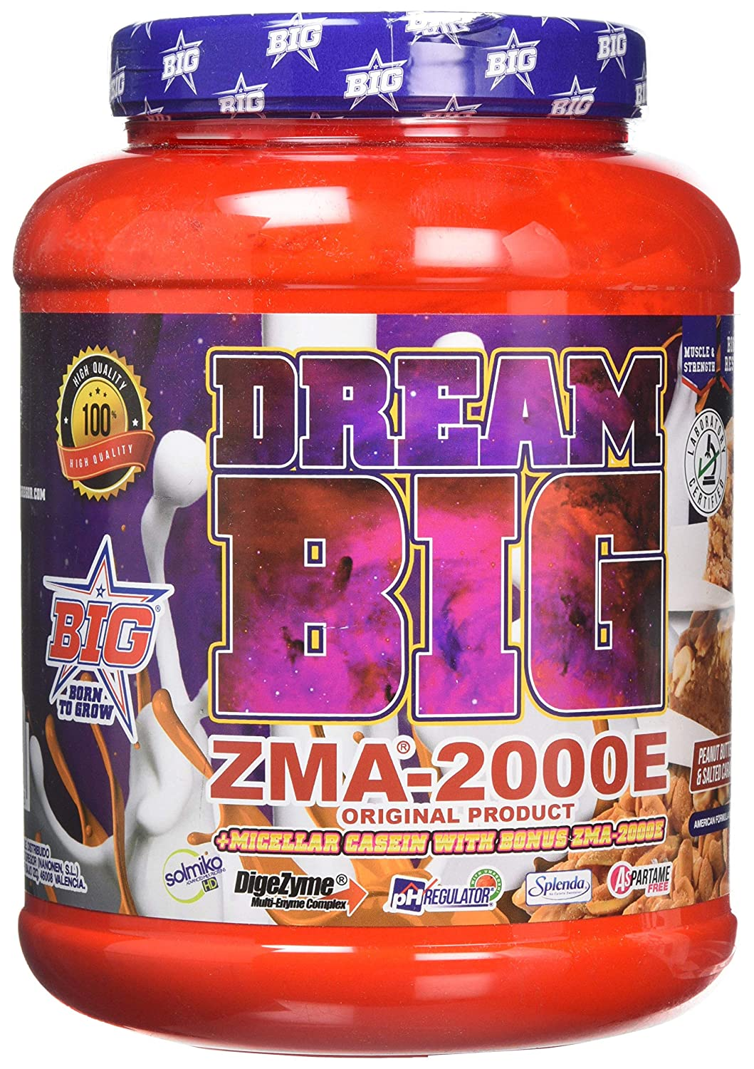 BIG Dream Mezcla de Zinc, Magnesio y Vitamina B - 1000 gr ...