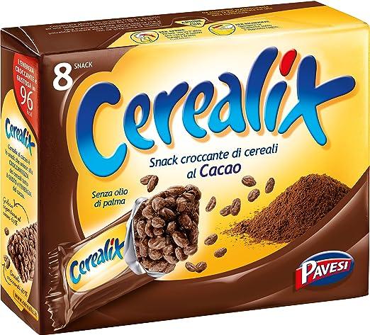 9 opinioni per Cerealix Snack Multi Cacao- 3 pezzi da 160 g [480 g]