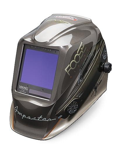 Lincoln eléctrica Viking 3350 impostor casco de soldadura con tecnología de la lente de 4 C