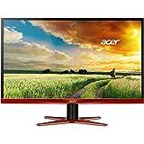 """Acer XG270HU 27"""" Wide Quad HD TN+Film Negro, Rojo - Monitor (2560 x 1440 Pixeles, LCD, Wide Quad HD, TN+Film, 2560 x 1440, 100000000:1)"""