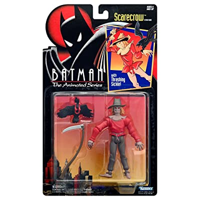 Batman: The Animated Series > Scarecrow Action Figure: Toys & Games