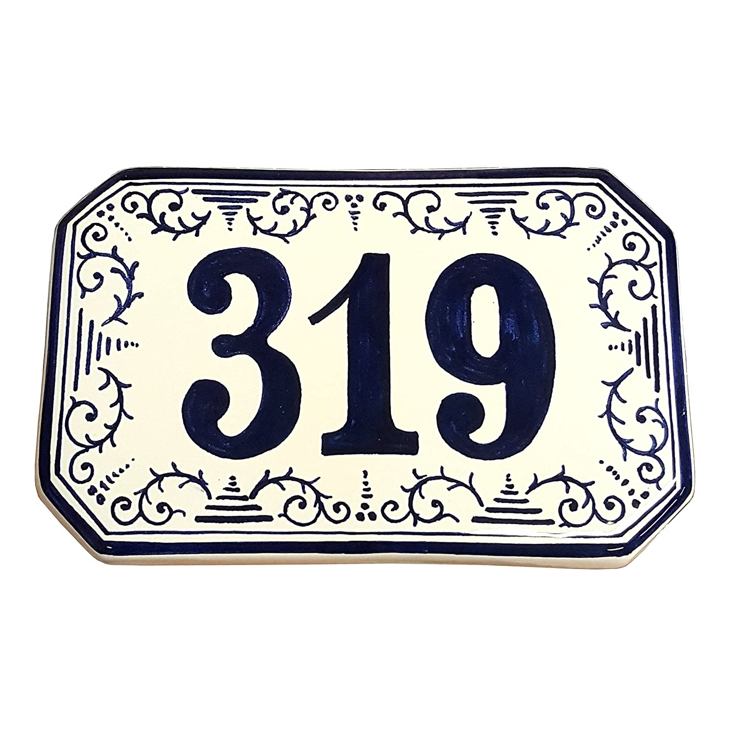 Amazon ceramiche darte parrini italian ceramic art pottery amazon ceramiche darte parrini italian ceramic art pottery tile custom house number civic address plaques hand painted made in italy tuscan dailygadgetfo Choice Image