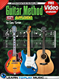 Progressive Guitar Method - Book 1 Supplement: Teach Yourself How to Play Guitar (Free Video Available) (English Edition)