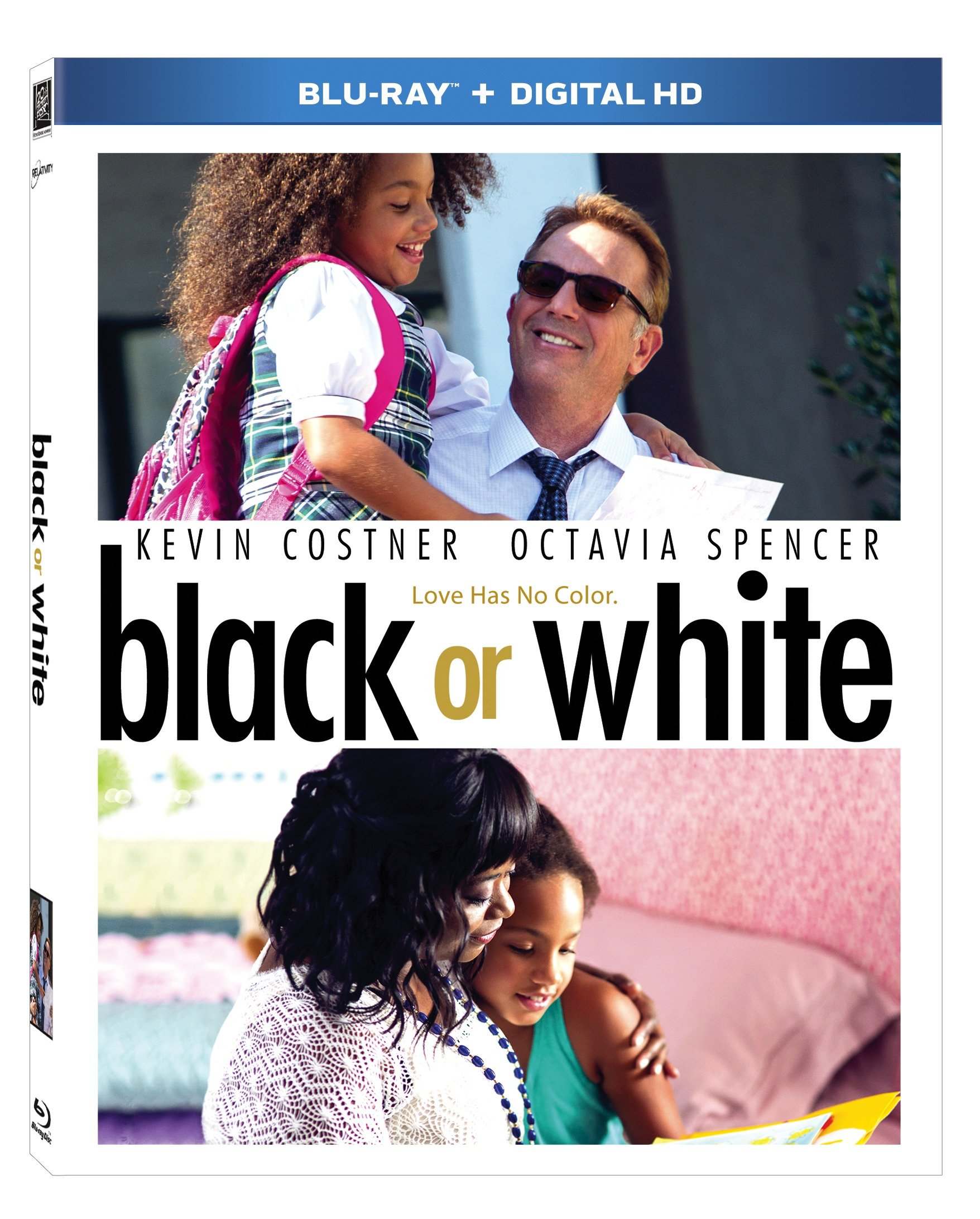 Blu-ray : Black or White (Digital Theater System, Digitally Mastered in HD, Widescreen, )
