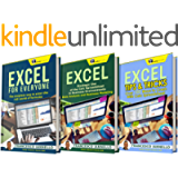 EXCEL: The Bible Excel - 3 Manuscripts + 2 BONUS BOOKS - Excel for Everyone, Data Analysis & Business Modeling, Tips…
