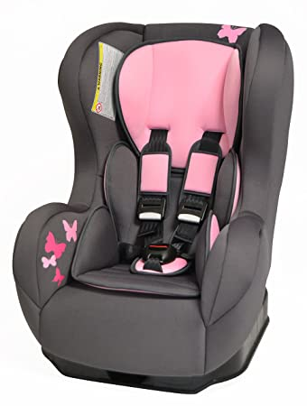 Comfort Plus car seat in Pink erfly (9 months to 4 years ...