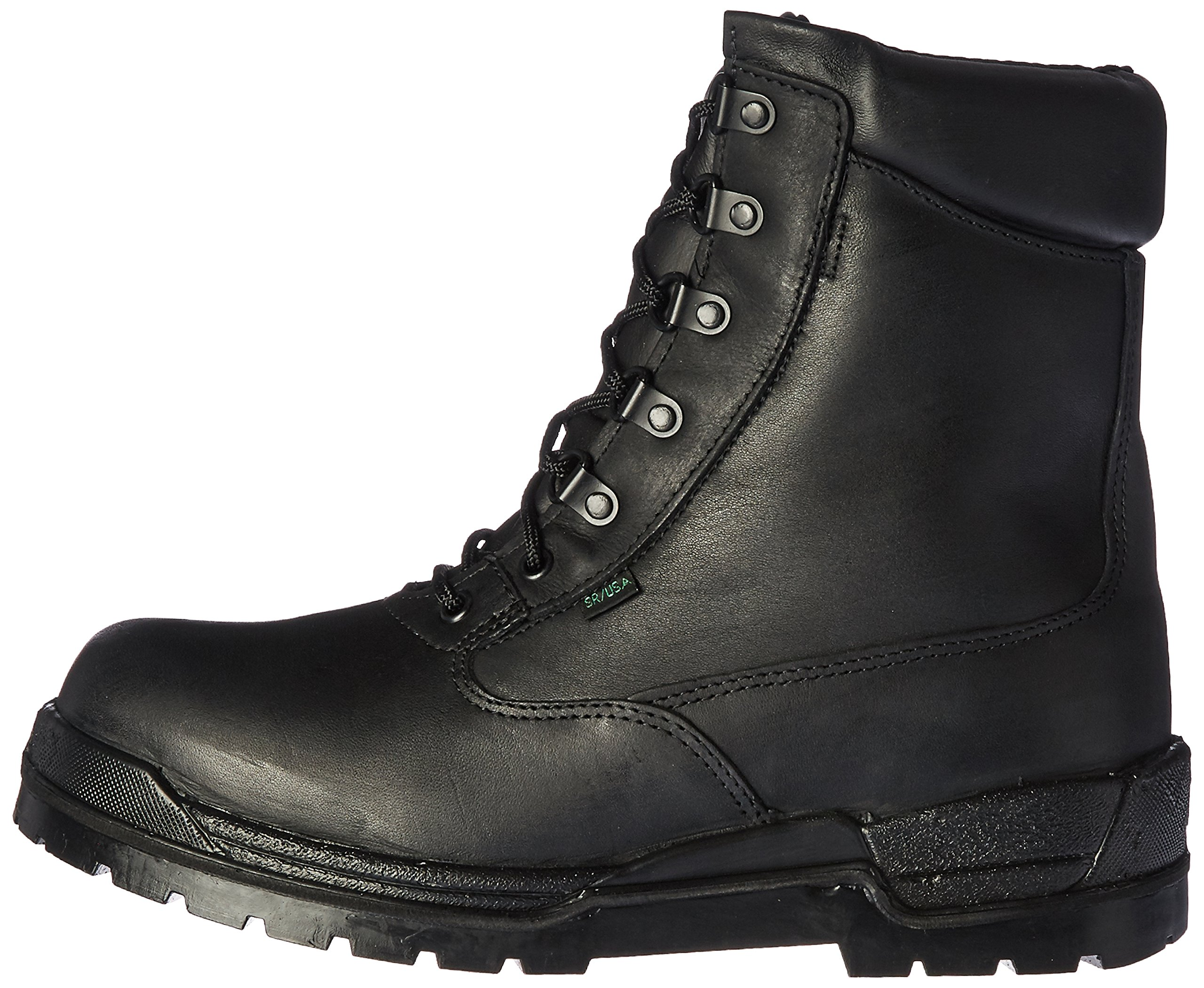 Rocky Men's 6 Inch Postal 8132-1 Slip Resistant Work Boot,Black,12 XW US by Rocky (Image #5)
