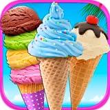 Mega Ice Cream, Frozen Soft Serve & Sundae Maker Games - Kids Ice Cream Truck Desserts FREE