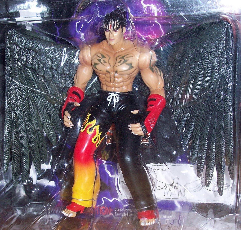 amazon com tekken 3 devil jin 1 10 scale action figure toys games