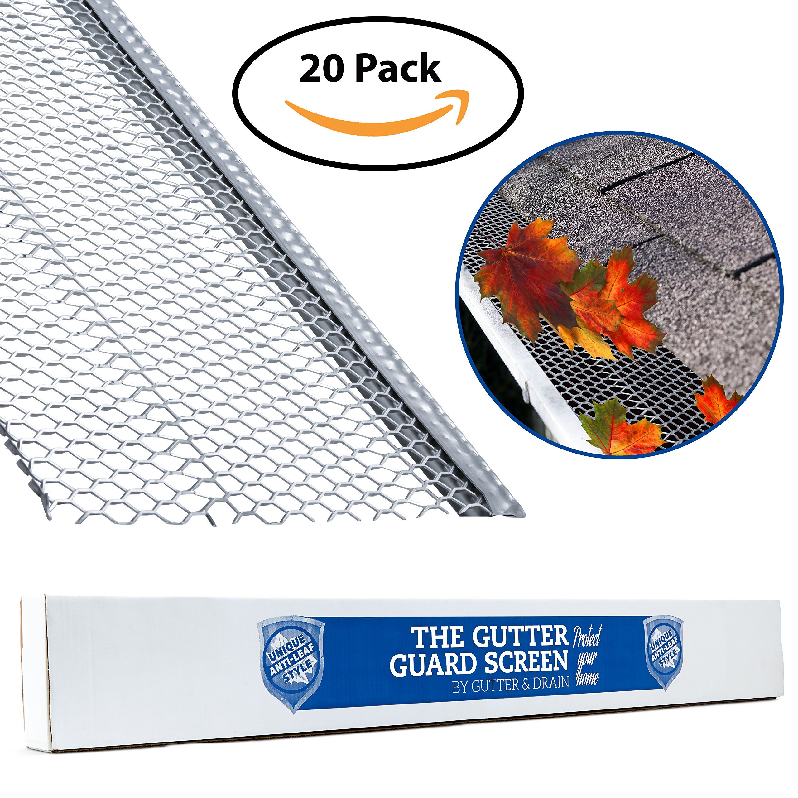 """Ultimate Rain Gutter Guard By Gutter&Drain 
