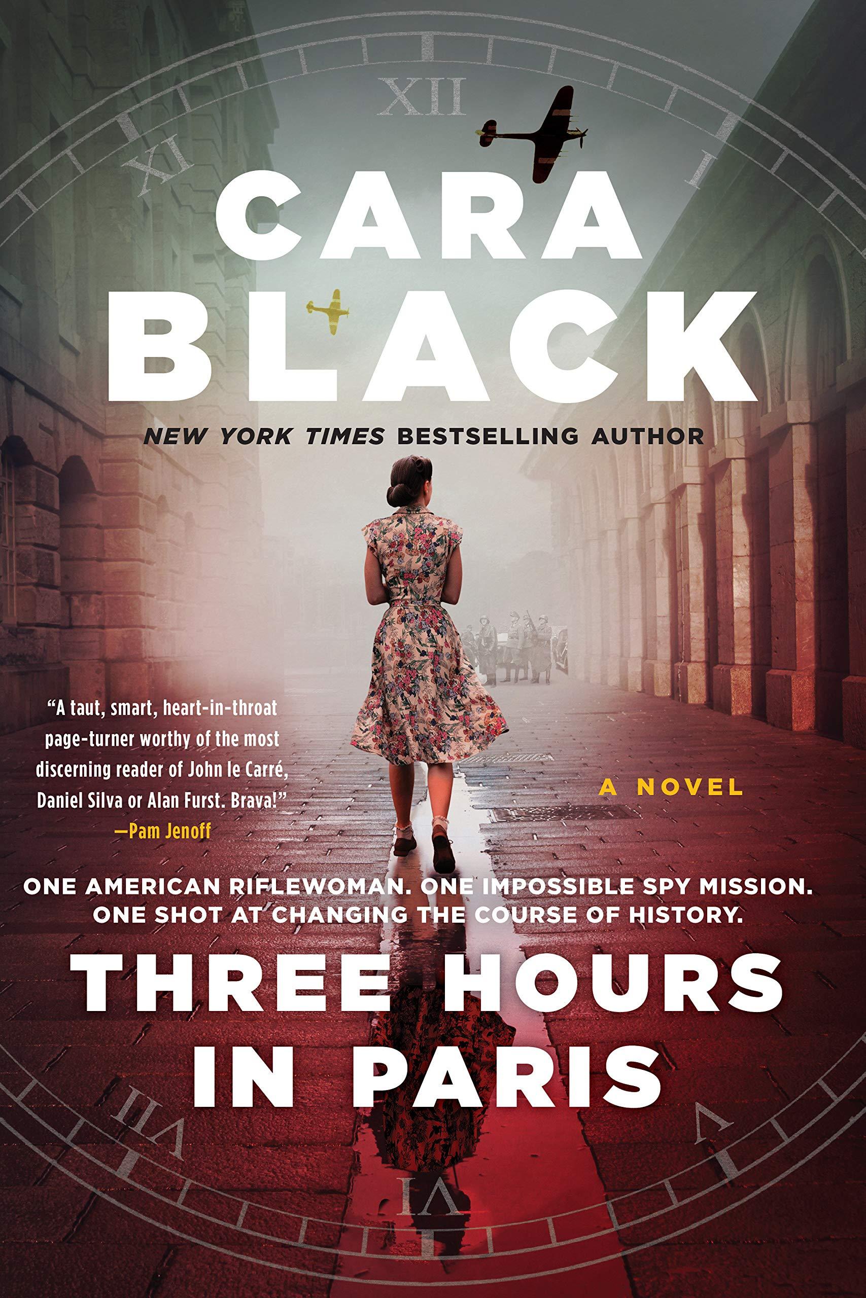 Three Hours In Paris Amazon Co Uk Cara Black 9781641290418 Books