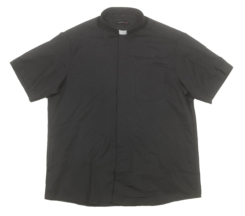 68582c40a6 Liturgical Creations Mens Short Sleeve Single Pocket Clergy Shirt ...