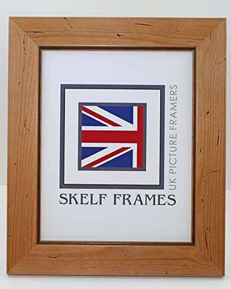 A3 WOOD PICTURE PHOTO POSTER FRAME (Antique Pine Distressed Wood ...