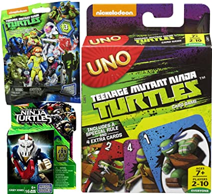 Amazon.com: teenage mutant ninja turtles Juego de cartas UNO ...