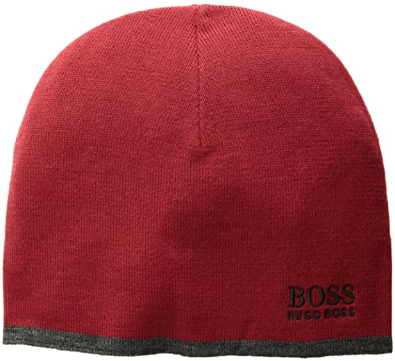 7206c1ecdca Amazon.com  Hugo Boss BOSS Men s Ciny Knitted Beanie