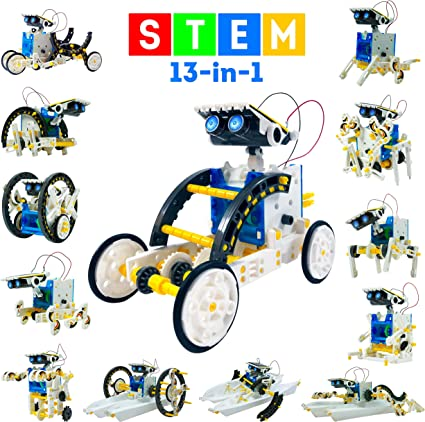 Solar Rover Car Kit Science Toys for Kids 8 15 Year Old Boys Girls Birthday Gift