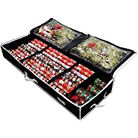 Gift Wrap Storage Organizer - Easily Organize Your Wrapping Paper, Ribbons, Bows and Scissors. Keeps Supplies in Perfect…