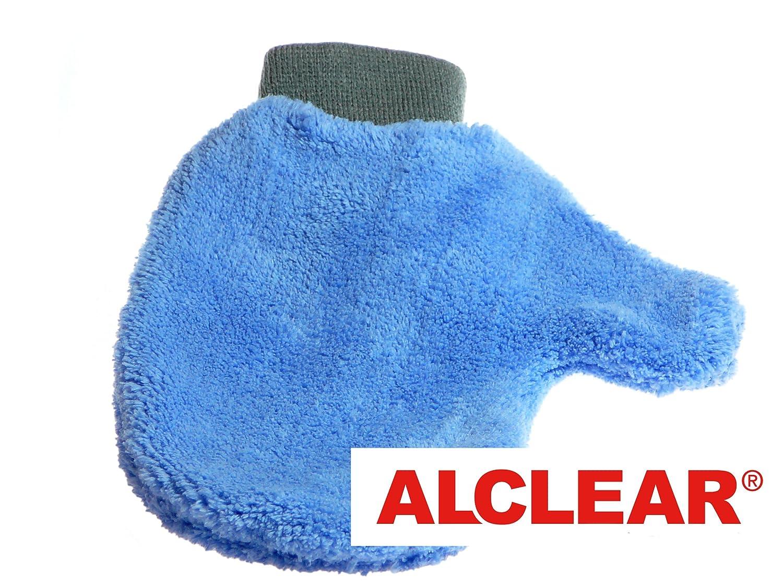 Amazon.com: ALCLEAR 950013 Ultra-Microfiber professional scratch free Wheel Rim Mitt, blue with black cuff. Size approx. 10.24 x 4.72 in.: Automotive