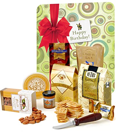 WINE. com feliz cumpleaños caja de regalo: Amazon.com ...