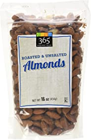 365 Everyday Value Roasted & Unsalted Almonds, 16 oz
