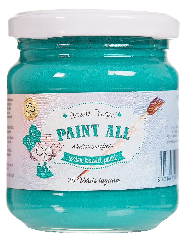 Amelie Prager ES-20 - Pintura multisuperficie, 180 ml, color verde ...