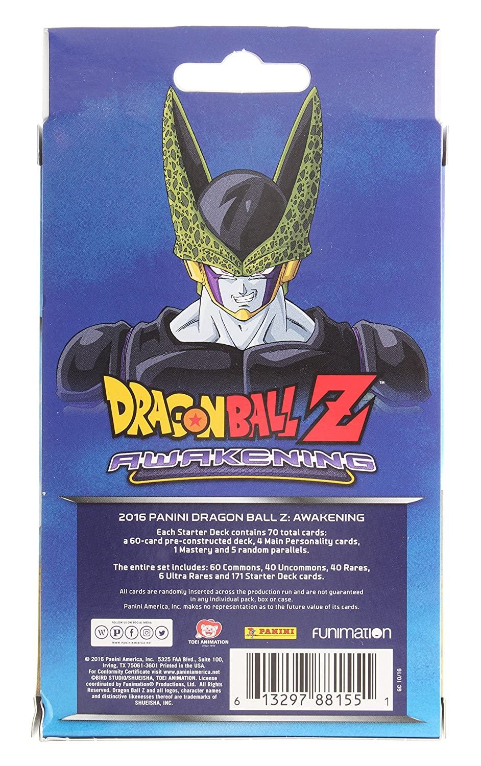 Amazon dragonball z awakening starter deck 70 cards toys games publicscrutiny Gallery
