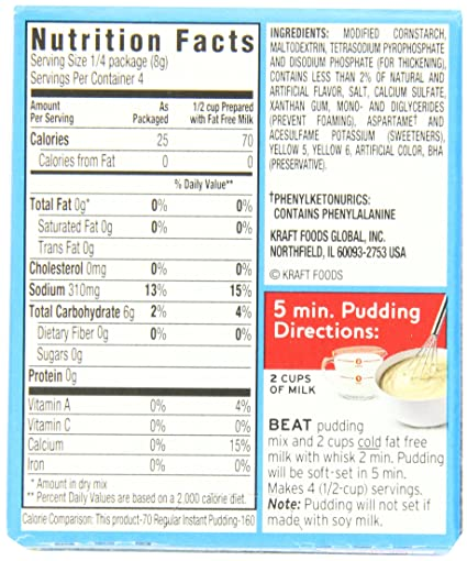 recipe: instant pudding mix directions [11]