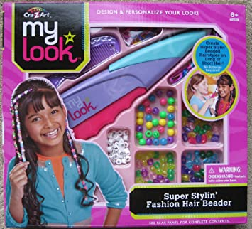 Cra Z Art My Look Super Stylin Fashion Hair Beader Amazon In Toys Games