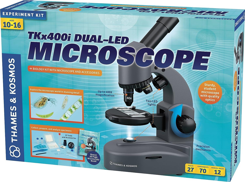 Thames & kosmos tkx400i mikroskop: amazon.de: spielzeug