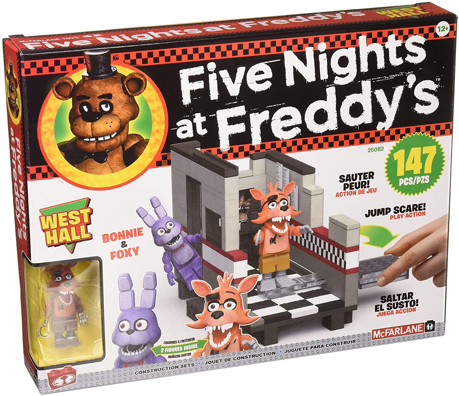 Kit de Construcción Medium West Hall. Five Nights at Freddys. McFarlane Toys: Amazon.es: Juguetes y juegos
