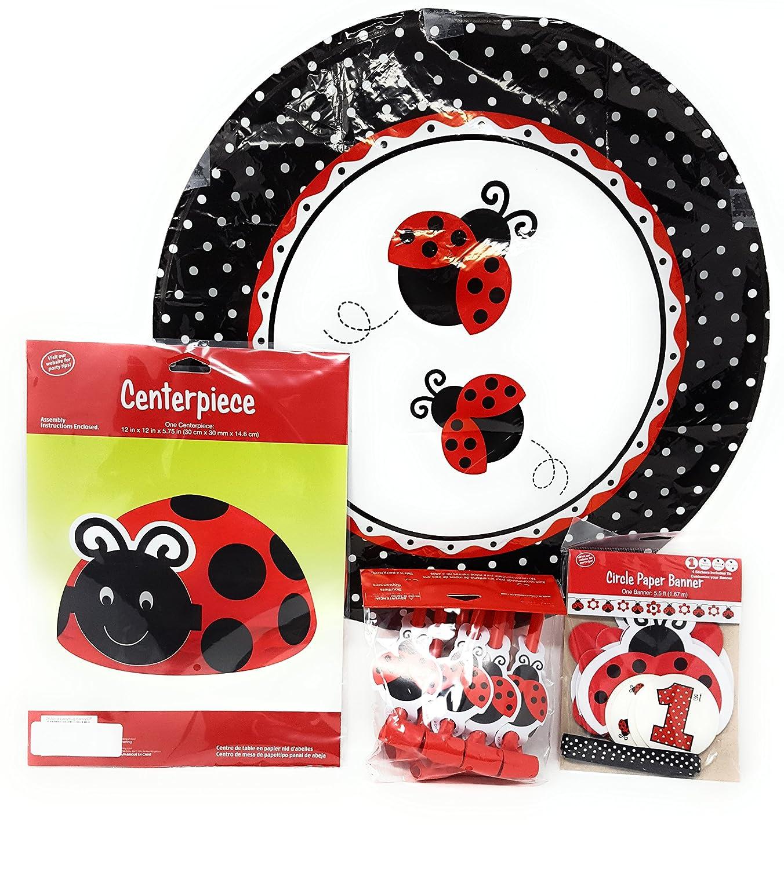ShoppeShare Ladybug Fancy - Juego de accesorios para fiesta ...