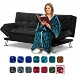 the comfy the blanket that 39 s a sweatshirt one size fits most soft snuggly and. Black Bedroom Furniture Sets. Home Design Ideas