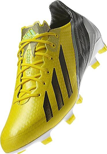 adidas Adizero F50 TRX FG Synthetic Soccer Cleats (Vivid Yellow aa18844d0f