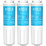 AquaCrest UKF8001 Refrigerator Water Filter Replacement Maytag UKF8001 UKF8001AXX UKF8001P, PUR Jenn-Air UKF8001, EDR4RXD1, Whirlpool 4396395, EveryDrop Filter 4, Puriclean II, 469006 (Pack of 3)