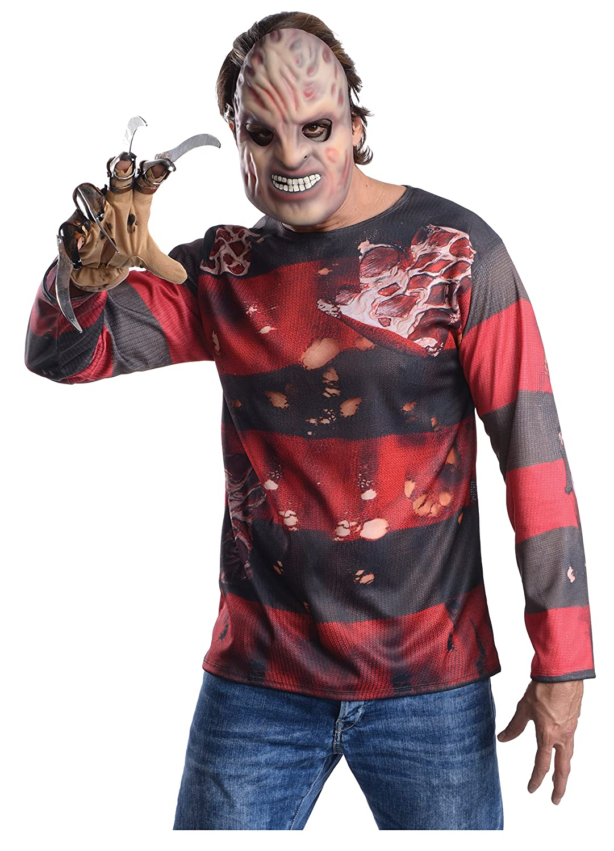 Rubies Kit Disfraz Freddy Krueger para Hombre: Amazon.es: Juguetes ...