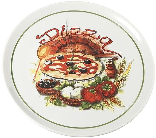 Tognana Cinzia - Plato para Pizza (33 cm, Forma Redonda, para ...