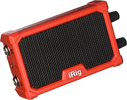 IK Multimedia iRig Nano Amp Battery Powered Micro Amp /& Interface For Mobile ...