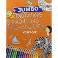 Jumbo Drawing & Painting Techniques Workbook (Binder)