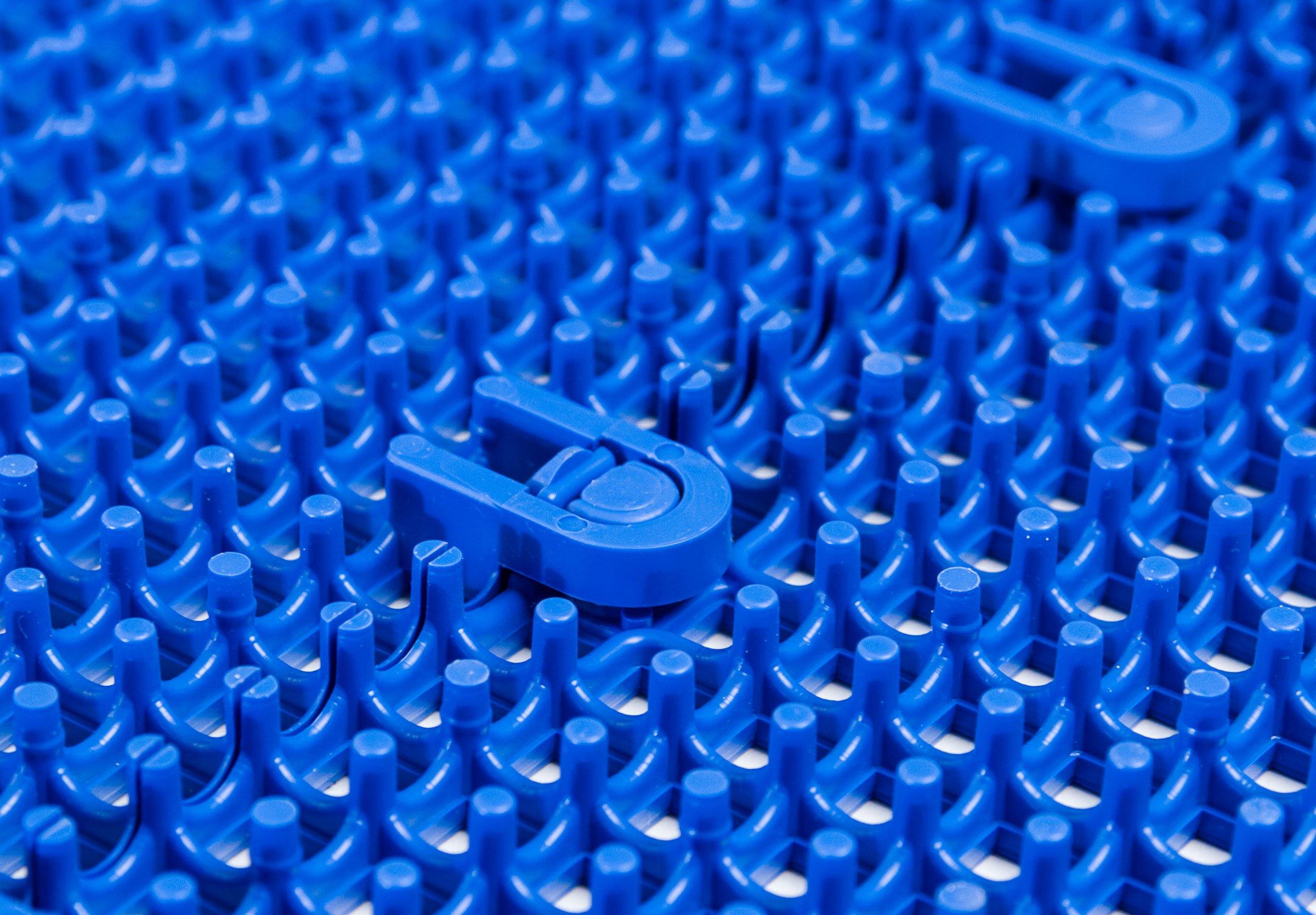 DuraGrid STBRIK Comfort Interlocking Modular Multi-Use Safety Floor Matting, Single Tile, Brick Red by DuraGrid® (Image #3)