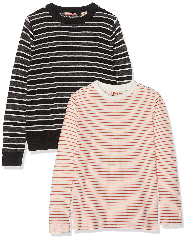 Scotch /& Soda Mock Neck Pull In Cotton-Cashmere Quality Camiseta de Tirantes para Ni/ños