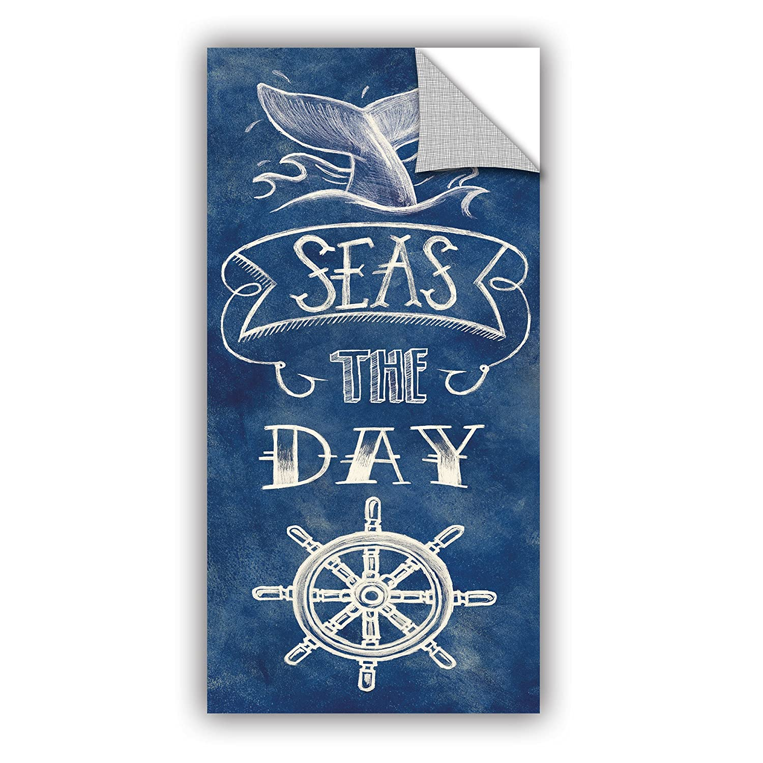 18 x 36 ArtWall Mary Urbans Seas The Day Removable Wall Art Mural